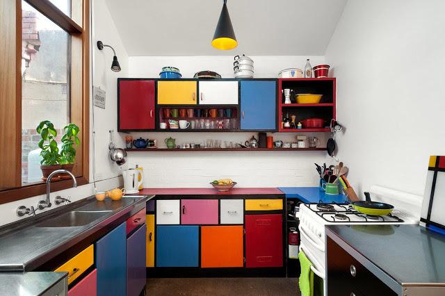 Nội thất nhà bếp nhỏ - mẫu 2