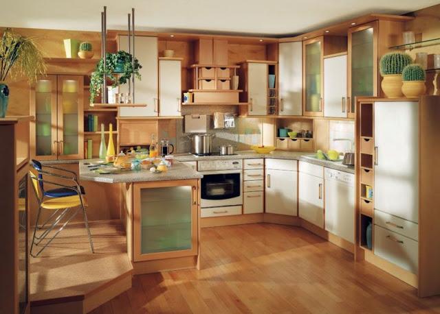 Nội thất nhà bếp nhỏ - mẫu 3