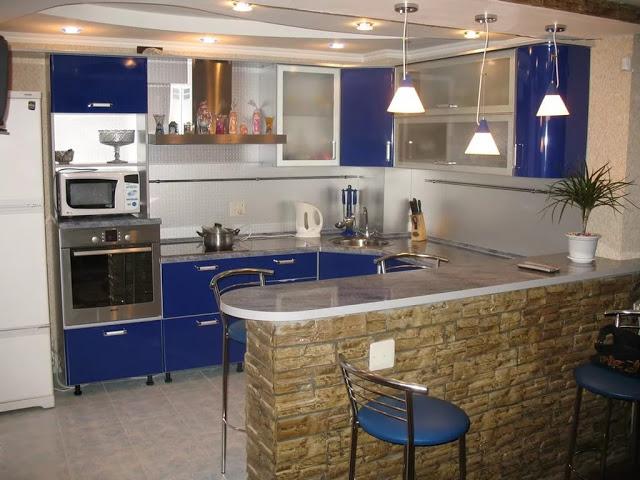 Nội thất nhà bếp nhỏ - mẫu 4