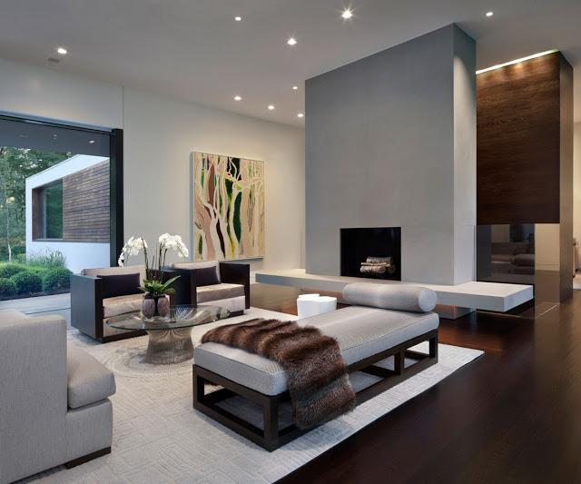 Phòng khách hiện đại - Mẫu số 1