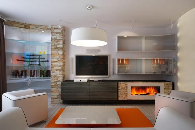 Phòng khách hiện đại - Mẫu số 3