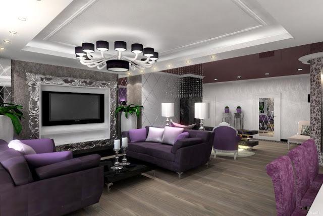 Phòng khách nhà phố - Mẫu 4