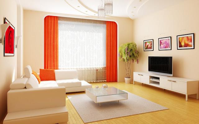 Phòng khách nhà phố - Mẫu 2