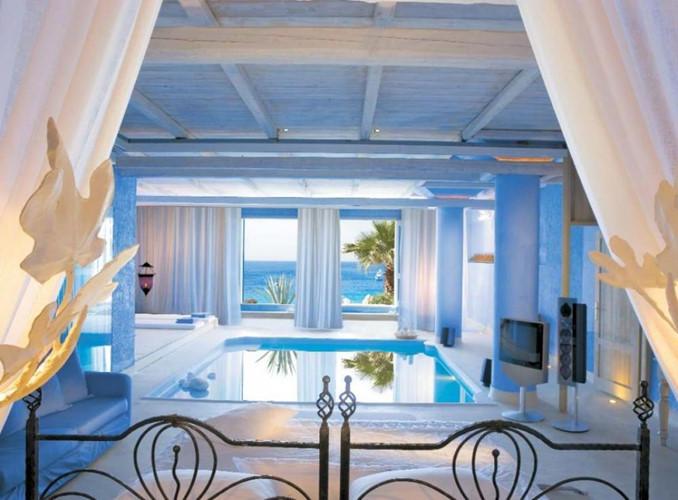 phòng ngủ phong cách bãi biển