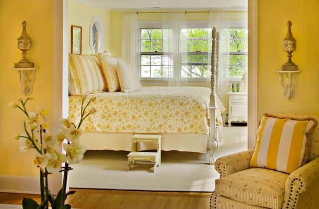 Phòng ngủ ấm áp sắc vàng- Mẫu số 5