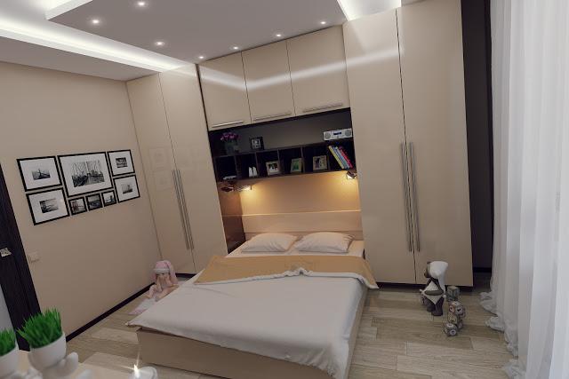 Phòng ngủ 10m2 đẹp - Mẫu số 1