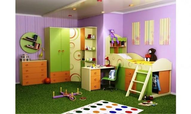 Phòng ngủ trẻ em- mẫu 4