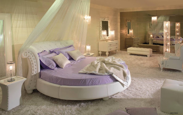 phòng ngủ hình tròn- mẫu 1