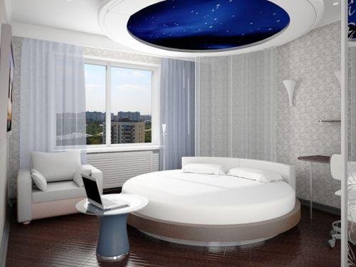 phòng ngủ hình tròn- mẫu 2