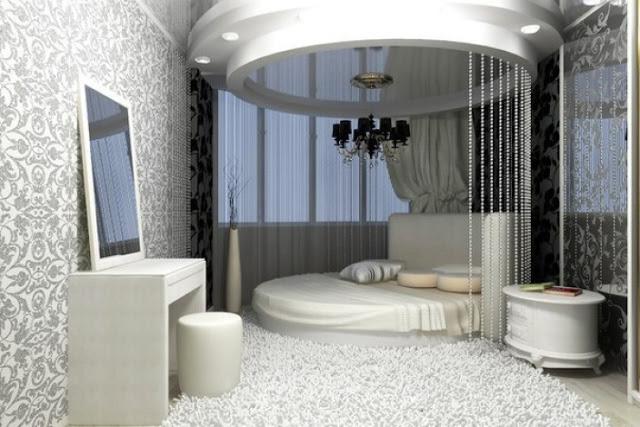 phòng ngủ hình tròn- mẫu 4