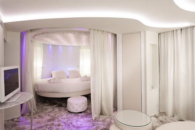 phòng ngủ hình tròn- mẫu 5