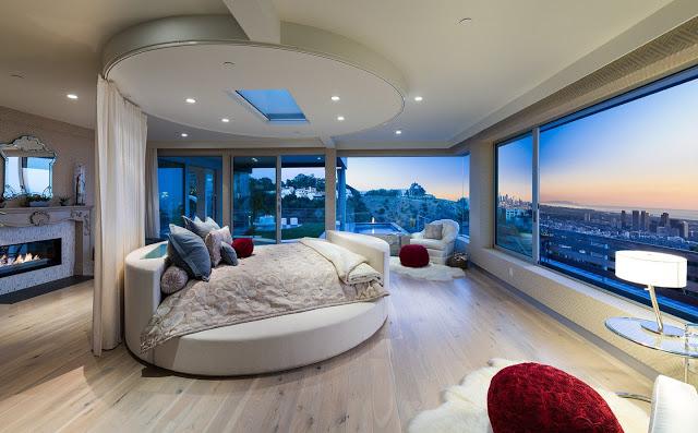 Phòng ngủ hiện đại với thiết kế hình tròn - Mẫu số 7