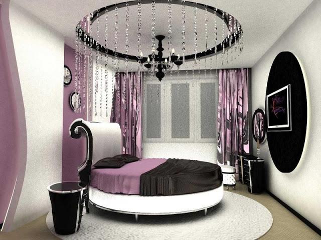 Phòng ngủ hiện đại với thiết kế hình tròn - Mẫu số 8
