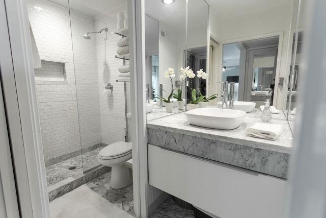 Phòng tắm đẹp lấy cảm hứng từ thời trang - 3