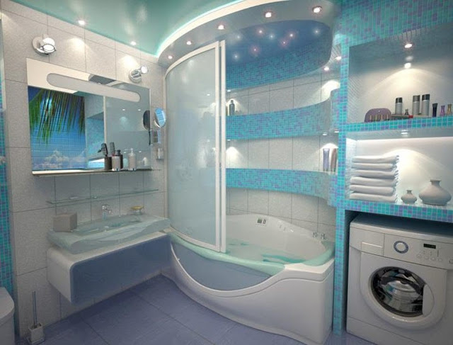 Phòng tắm cao cấp - Mẫu số 8