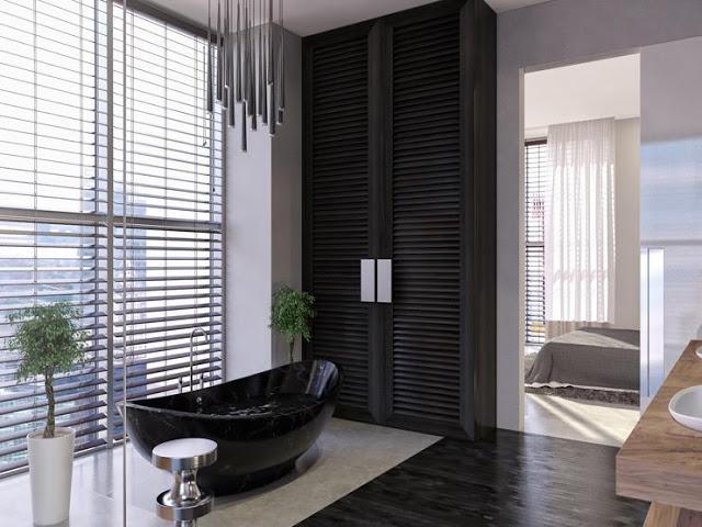 phòng tắm chung cư- mẫu 3