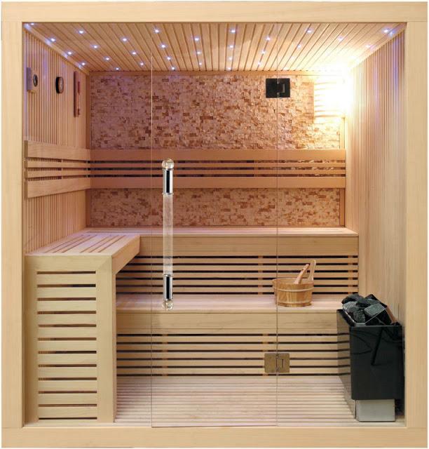 Phòng tắm xông hơi - mẫu số 1