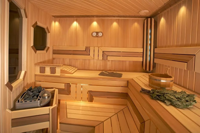 Phòng tắm xông hơi - mẫu số 3