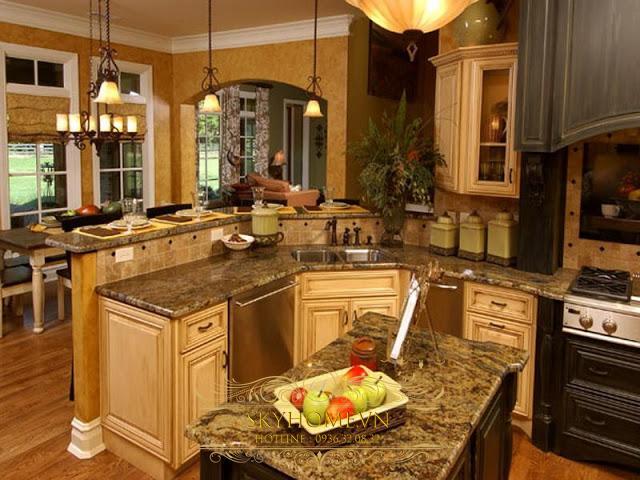 nhà bếp đẹp - mẫu số 3