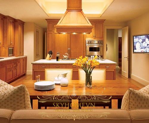 nhà bếp đẹp - mẫu số 4