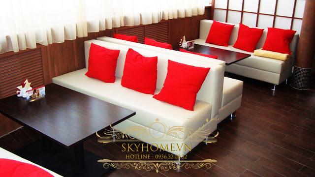 bàn ghế sofa quán cafe đẹp