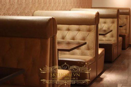 sofa cafe 2 ban ghe sofa cafe cho khong gian quan them sang trong