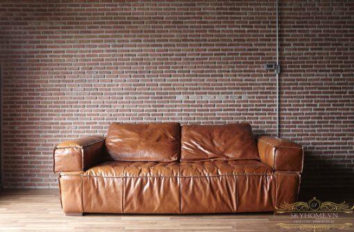 sofa da mini phong khach