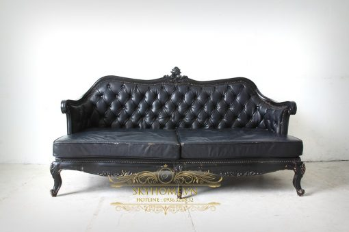 sofa da tan co dien