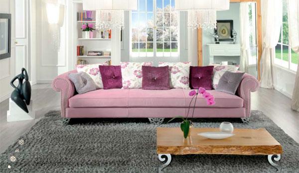 Sofa đẹp cần phù hơp với không gian nội thất phòng khách(skyhome.vn)