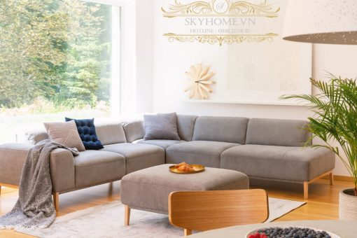 sofa mini phong khach bang ni
