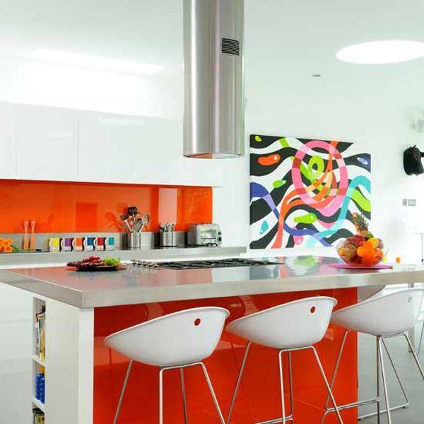 Sử dụng màu sắc phù hợp cho bếp