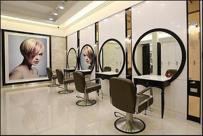 Thiết kế tiệm tóc đẹp