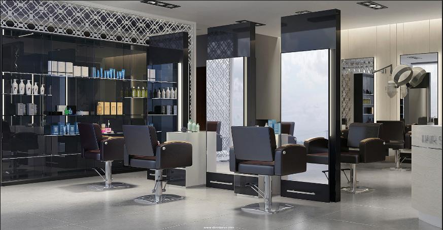 Thiết kế tiệm tóc chuyên nghiệp