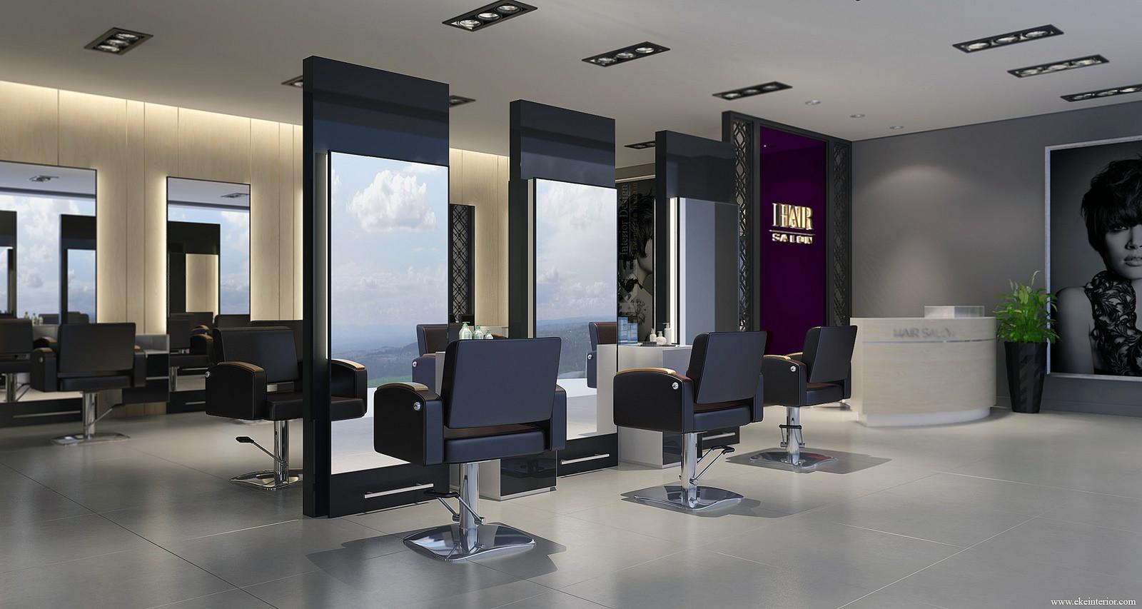 Thiết kế salon không gian đẹp