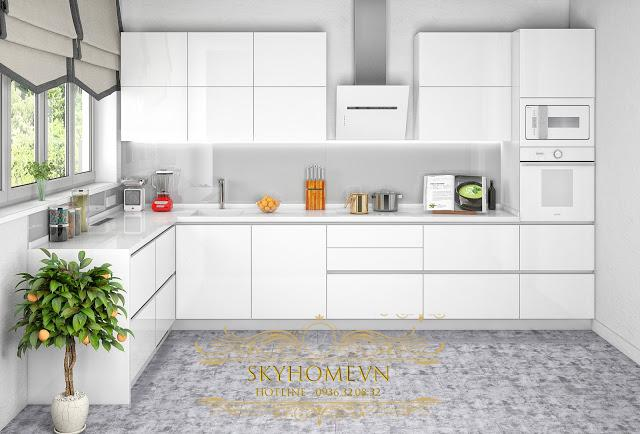Tủ bếp đẹp - Mẫu số 2
