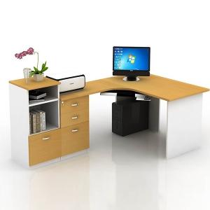 bàn làm việc nhân viên - mẫu 1