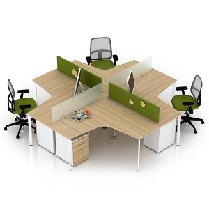 bàn làm việc nhân viên - mẫu 5