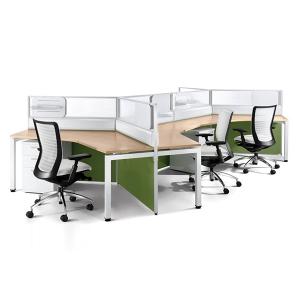 bàn làm việc nhân viên - mẫu 2