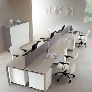 bàn làm việc nhân viên - mẫu 9