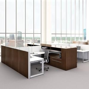 bàn làm việc nhân viên - mẫu 19