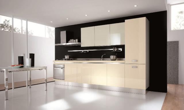 Tủ bếp acrylic đẹp - Mẫu số 1