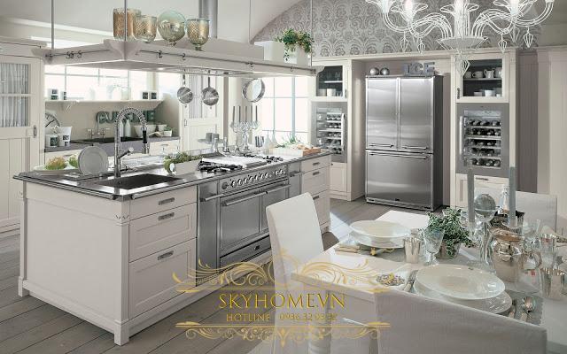 Tủ bếp đẹp - Mẫu thiết kế số 1