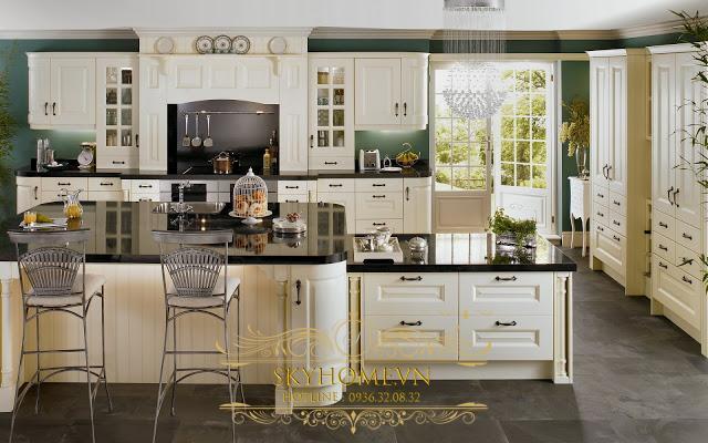 Tủ bếp đẹp - Mẫu thiết kế số 2