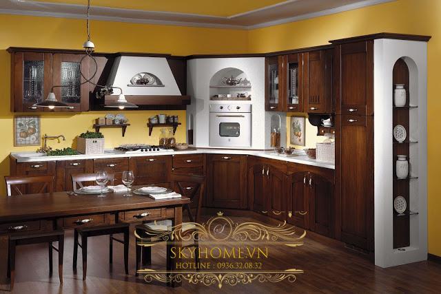 Tủ bếp đẹp - Mẫu thiết kế số 3