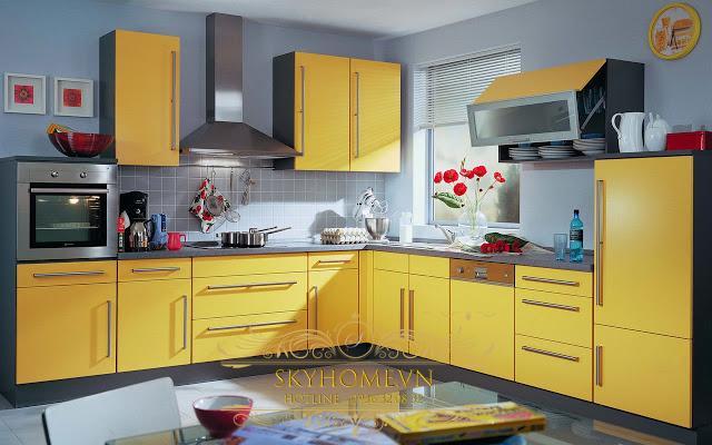 Tủ bếp đẹp - Mẫu thiết kế số 5