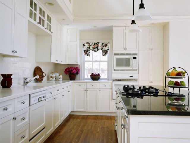 Tủ bếp chuyển tiếp - Mẫu số 4