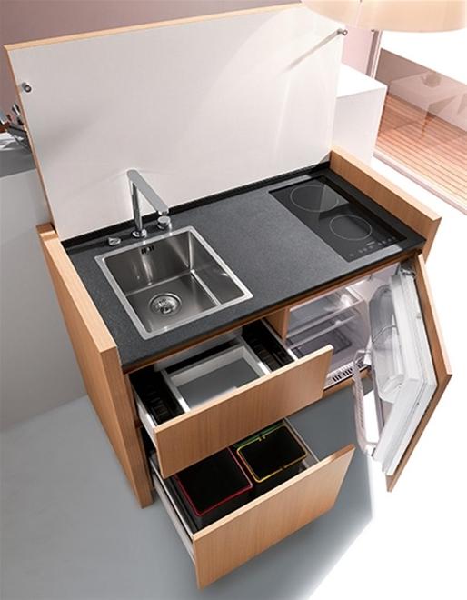 Tủ bếp đa chức năng