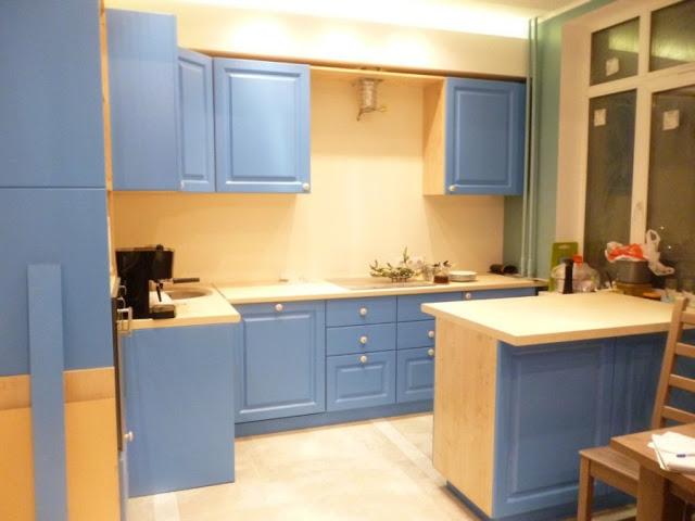 Tủ bếp gỗ laminate - Mẫu số 1