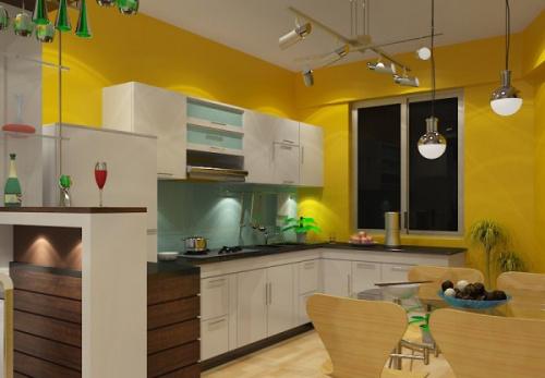 tủ bếp đẹp- mẫu số 1