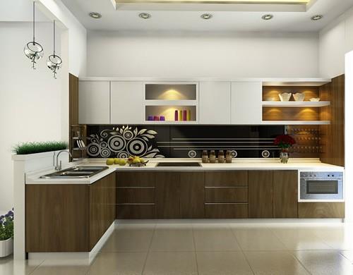 Tủ bếp nên được thiết kế sát trần nhà